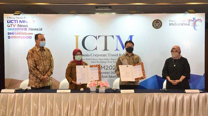 Kemenparekraf Dorong Kebangkitkan Industri MICE di ICTM 2020, Digelar di 5 Kota & Salah Satunya Bali