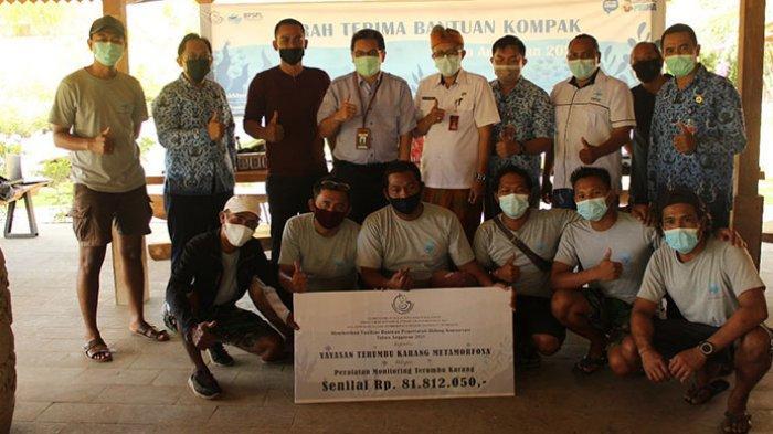 Kelompok Yayasan Terumbu Karang Metamorfosa Buleleng Terima Bantuan dari Ditjen PRL