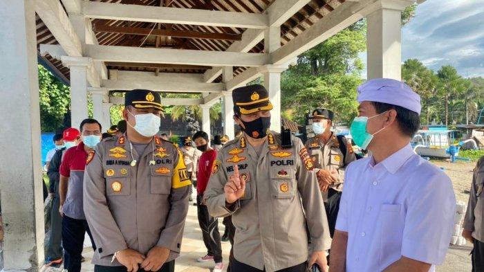 Karo Log Polda Bali Tinjau Kondisi Polsek dan Pos Pol Nusa Penida Bali