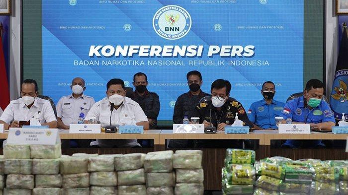 Dipimpin Mantan Kapolda Bali, BNN Gagalkan Masuknya Ratusan Kilogram Narkoba Jaringan Thailand-Aceh