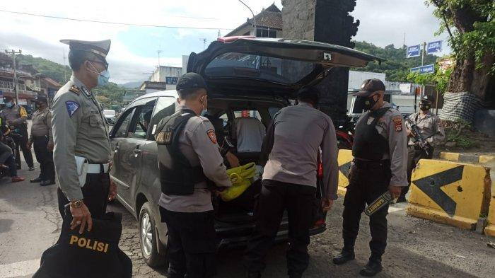 Penjagaan Pintu Masuk Bali di Pelabuhan Padang Bai Diperketat, Puluhan Personel Dikerahkan
