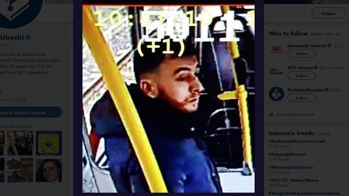 Insiden Penembakan di Utrecht Belanda Tewaskan 3 Orang, Polisi Rilis Foto Terduga Pelaku Ini