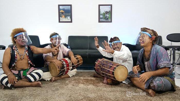 Yamaha 'Ngrujak', Clekontong Mas Ajak Masyarakat Mengenal Maestro Kendang Bali Pak Tut Nang