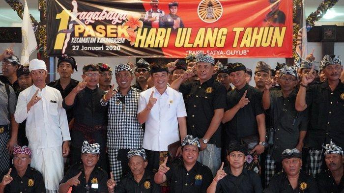 Ketua DPRD Karangasem Hadiri HUT Jagabaya Pasek, Ini Apresiasi yang Disampaikannya
