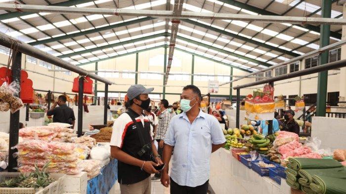 Pedagang Mengeluh Omzet Menurun, Ketua DPRD Klungkung Serap Aspirasi Pedagang Pasar Semarapura
