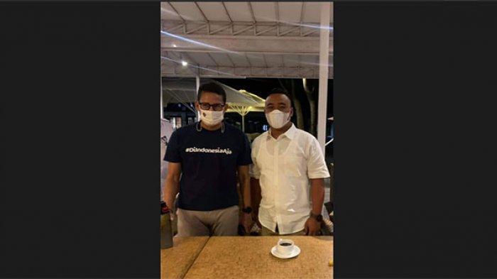 Temui Menparekraf Sandiaga Uno, Fraksi Gerindra DPRD Bali 'Mesadu' Soal Ini