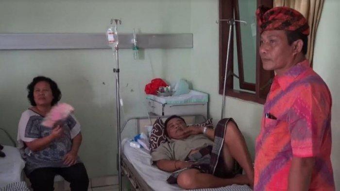 Kelelahan Kawal Tahapan Pemilu, Ketua KPPS Bubunan Made Sulatra Tumbang Terkena Serangan Jantung