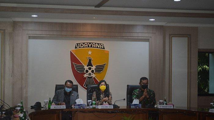 Kunjungan Kerja ke Bali, Komisi I DPR RI Adakan Rapat Dengar Pendapat dengan Pangdam IX/Udayana