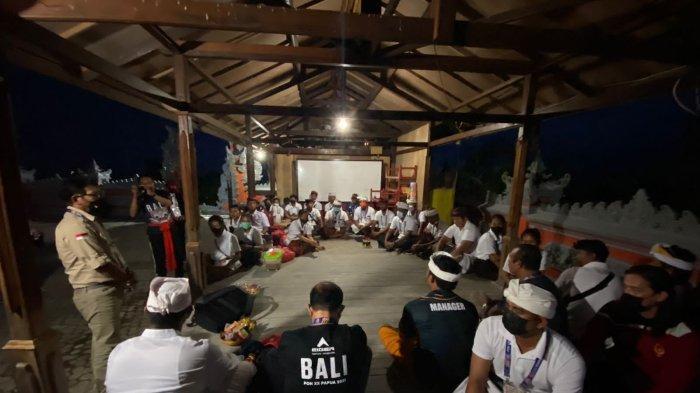 Tim Bali Gelar Persembahyangan di Pura Surya Buana Sebelum Lawan Papua di Final Cricket T-20