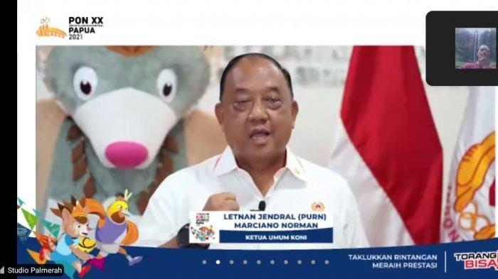 RESMI - KONI Pusat Buka Virtual Run Kirab Api PON XX Papua