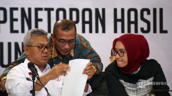 Hasil Pileg 2019 KPU Umumkan 9 Partai Lolos ke DPR: PDIP Pertama, Disusul Gerindra dan Golkar