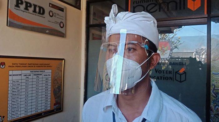 Ketua KPU Bangli Positif Terpapar Covid-19, Pelaksanaan Penetapan Calon Terpilih Akan Dipimpin Plh
