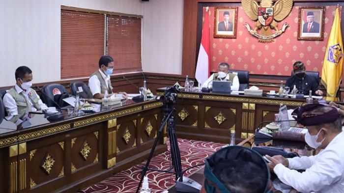Kepala BNPB Yakini Kerja Keras Pentaheliks untuk Pulihkan Kehidupan Masyarakat Bali Ditengah Pandemi