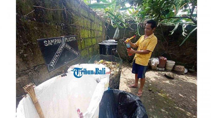 Cerita Ketut Widastra Kelola Sampah Organik di Tabanan Bali, Bisa Hasilkan Magot dan Pupuk Tanaman