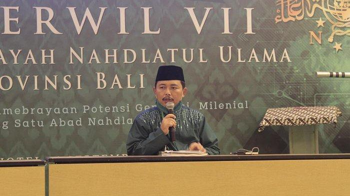 KH Abdul Aziz Kembali Terpilih Menjadi Ketua PWNU Bali 2020-2025