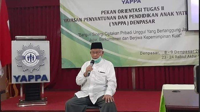 KABAR DUKA: Mantan Ketua MUI Bali dan Deklarator FKAUB K.H. Hasan Ali Meninggal Dunia