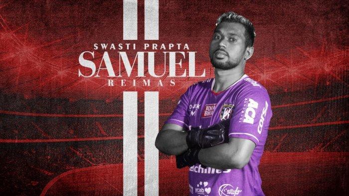 Kiper Bali United Samuel Reimas Latihan Bersama Taufiq, Leo, dan Gavin