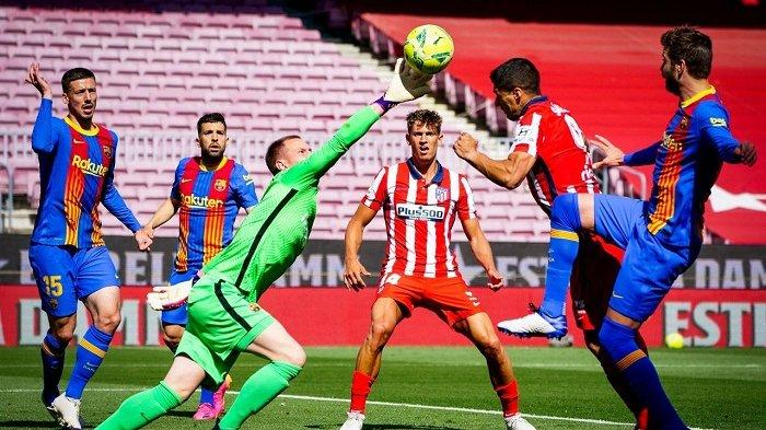 Update Hasil Liga Spanyol: Atletico Madrid Gagal Menang di Camp Nou, Ini Statistiknya Barcelona