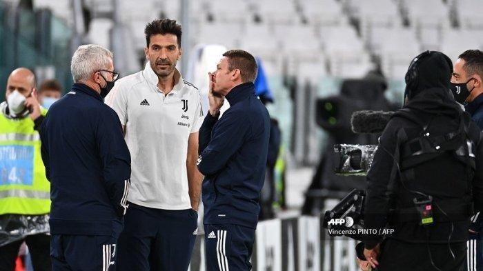 Juventus vs SPAL Coppa Italia Malam Ini, - Kiper Juventus Gianluigi Buffon dikabarkan akan disidang terkait perkataan penistaan.
