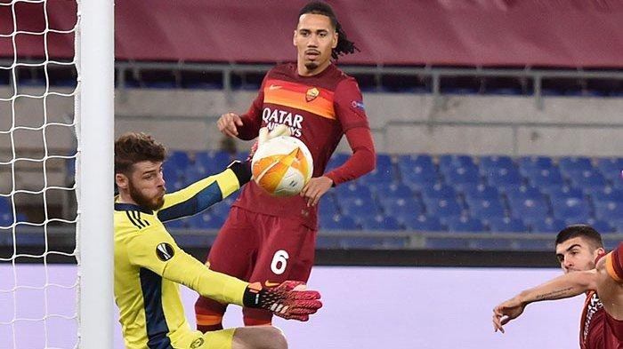 Hasil AS Roma vs Manchester United: Man United ke Final Liga Europa, De Gea Trending di Twitter