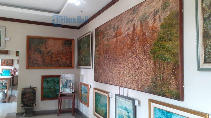 Kisah Museum Lukisan Sidik Jari Denpasar, Pengerjaan Lukisan Perang Puputan Badung Hingga 18 Bulan