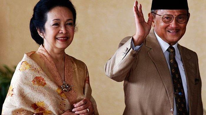 Cerita Petugas TMP Kalibata, BJ Habibie Selalu Kunjungi Makam Ainun Tiap Pekan Sambil Bawa Melati