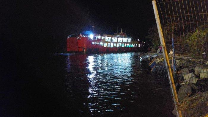 KMP Tunu Pratama Jaya 3888 Kandas di Perairan Gilimanuk