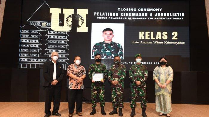 Pelatihan Kehumasan Jurnalistik di Jakarta, Wakil Kodam IX/Udayana Toreh Prestasi