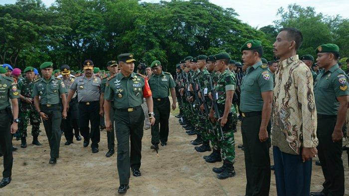 Presiden Jokowi Akan Kunjungi Bali, Kodam Gelar Apel Kesiapan Pengamanan