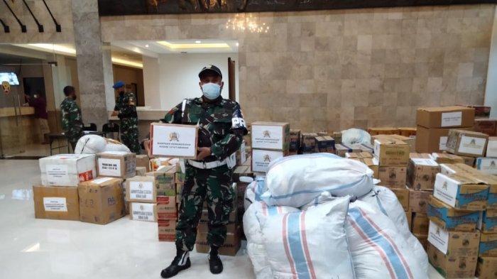 Peduli Bencana Alam di NTT, Korem 163 Wira Satya Galang Paket Bantuan