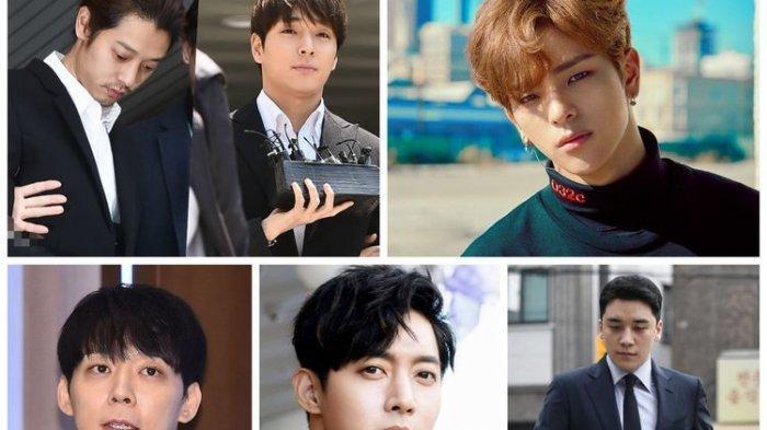 6 Idol K-Pop Terseret Kasus Pelecehan Seksual, Skandal Besar Seungri, Terbaru Woojin Eks Stray Kids
