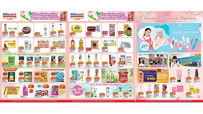 Tinggal 6 Hari, Promo Alfamart 1-15 September 2020, Harga Spesial Mie Sedaap, Cek Katalog di Sini