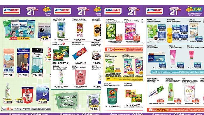 Terakhir Hari Ini, Promo JSM Alfamart 16-18 Oktober 2020, Harga Murah Minyak Goreng Hingga Detergen