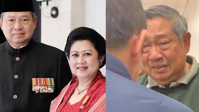 Satu Jam Sebelum Ani Yudhoyono Meninggal, Airmata SBY Jatuh: Itu Air Mata Cinta, Kasih, dan Sayang