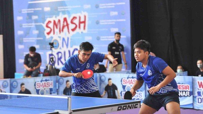 Atlet Junior Tenis Meja BNNP Bali Raih Emas di Ajang Smash On Drugs, Harapkan Jadi Duta Anti Narkoba
