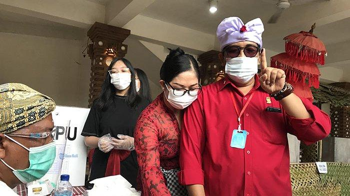 Hasil Pilkada Tabanan: Sanjaya dan Ngurah Panji Menang di Tempat Nyoblos, Budiasa Kalah di TPS-nya
