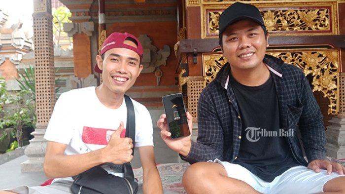 Dua Pria Asal Bangli, Odon dan Kimos Galang Dana untuk Penyediaan APD Level II