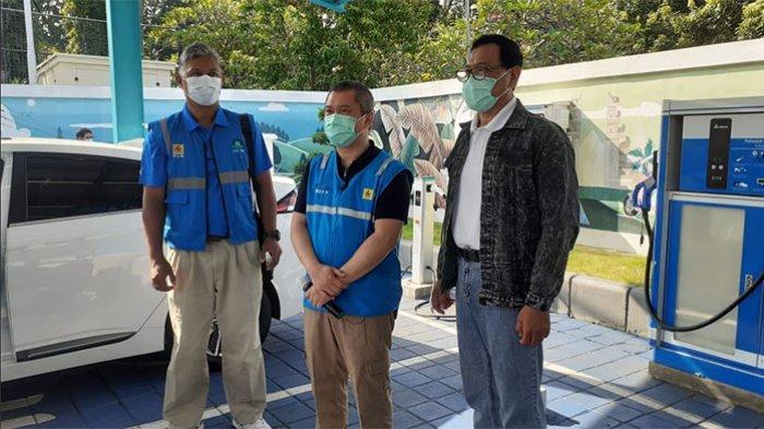 Komisaris PLN Keliling Bali Tinjau Kesiapan Pengembangan Kendaraan Bermotor Listrik Berbasis Baterai