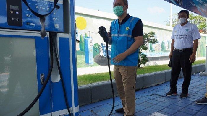 Dukung Penerapan KBLBB di Bali, PLN Cek Kesiapan Infrastruktur Stasiun Pengisian Kendaraan Listrik