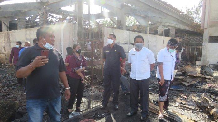 Antisipasi Pedagang Pasar Blahbatuh Jadi Pedagang Liar, DPRD Percepat Pembangunan Pasar Relokasi