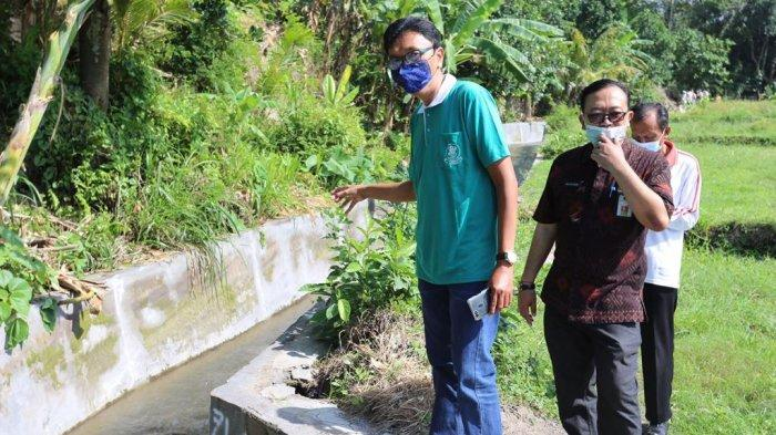 Sidak Komisi II di Desa Nyalian, Dewan Temukan Proyek Irigasi Tidak Sesuai Spesifikasi