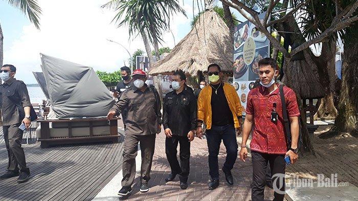 Sidak Pantai Sanur, DPRD Denpasar Tunggu Keberanian Pemkot Tertibkan Bangunan yang Melanggar