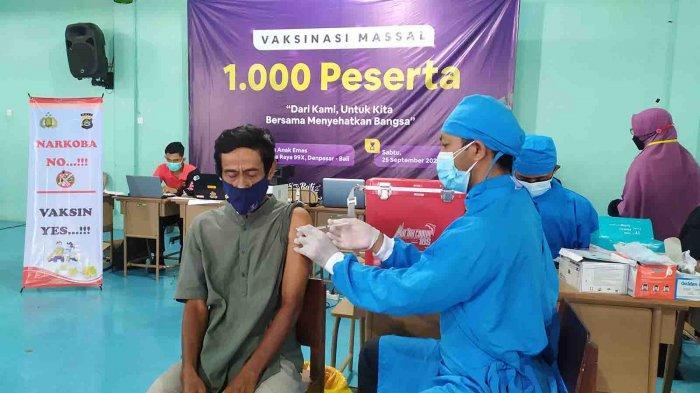 Polda Bali Apresiasi Vaksinasi Massal Yayasan Anak Emas & Bali Mengaji, Ini Kata Petinggi Polda Bali