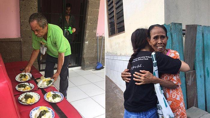 KNB Berbagi dengan Lansia di Panti Sosial, Ada Curhat Sedih Nenek Dititip oleh Menantunya
