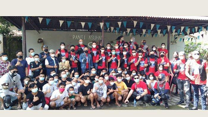 Touring Harley Davidson Jawa-Bali, Komunitas FRC Gelar Baksos di Klungkung