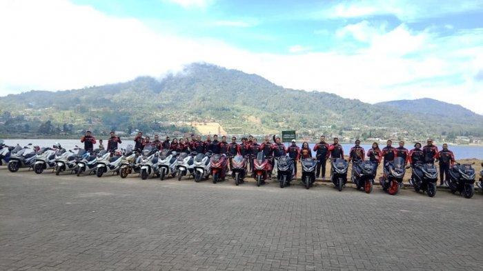 Isi Liburan Panjang, Komunitas Semeton PCX Gianyar Jajal Rute Baru Bali Utara
