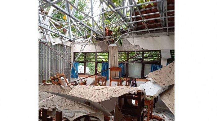 Disdikpora Badung Bali Akui Sudah Dapat Laporan Terkait Rusaknya Bangunan SD No 2 Sempidi