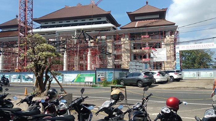 Di Tengah PPKM Darurat, Progres Pembangunan Pasar Gianyar Lampaui Target