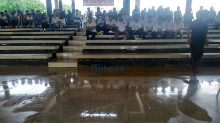 Klungkung Diguyur Hujan Lebat, Atap Balai Budaya Klungkung Hingga RSUD Klungkung Bocor