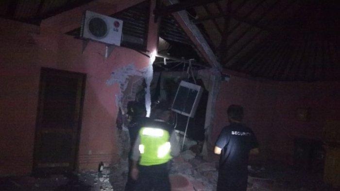 Ledakan di Villa Bogenville Banjar Jempinis Desa Pererenan,Ini Penjelasan Kanit Reskim Polsek Mengwi